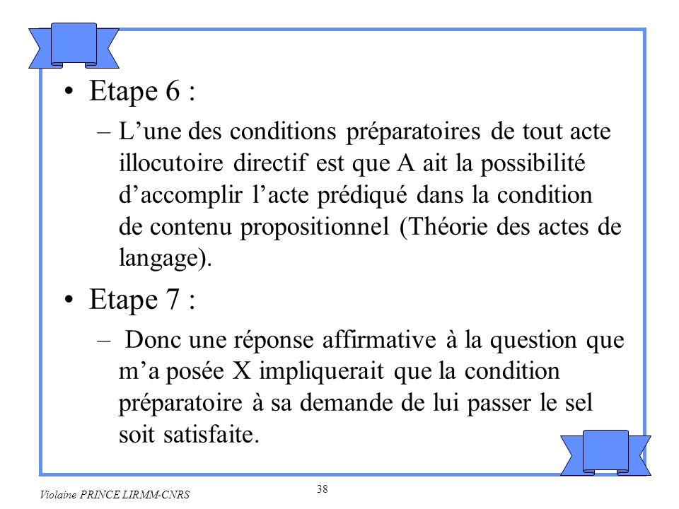 Etape 6 :