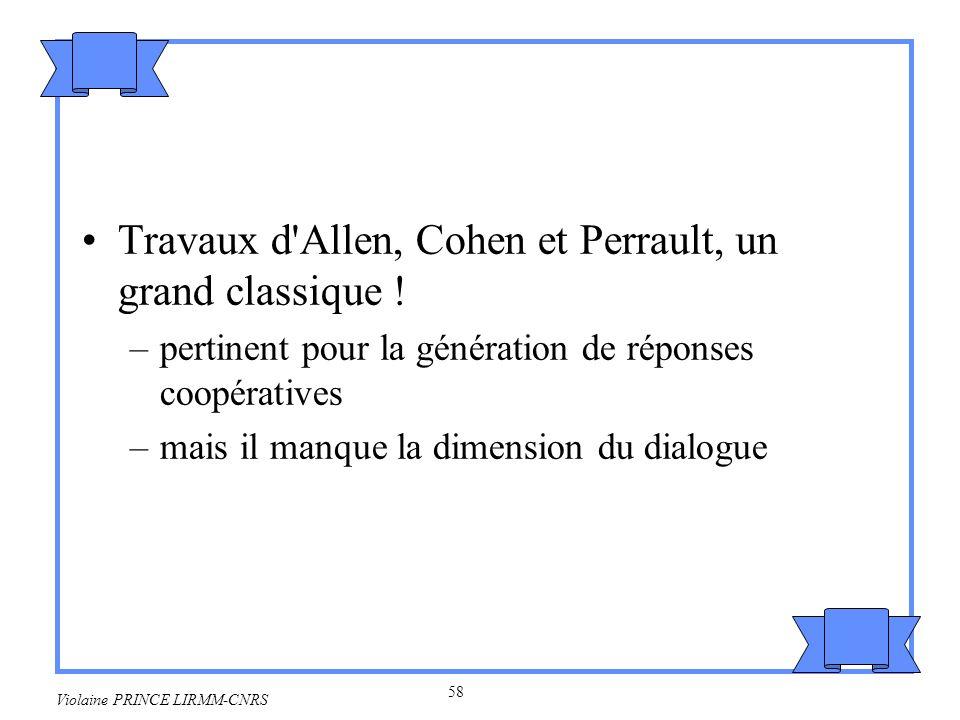 Travaux d Allen, Cohen et Perrault, un grand classique !