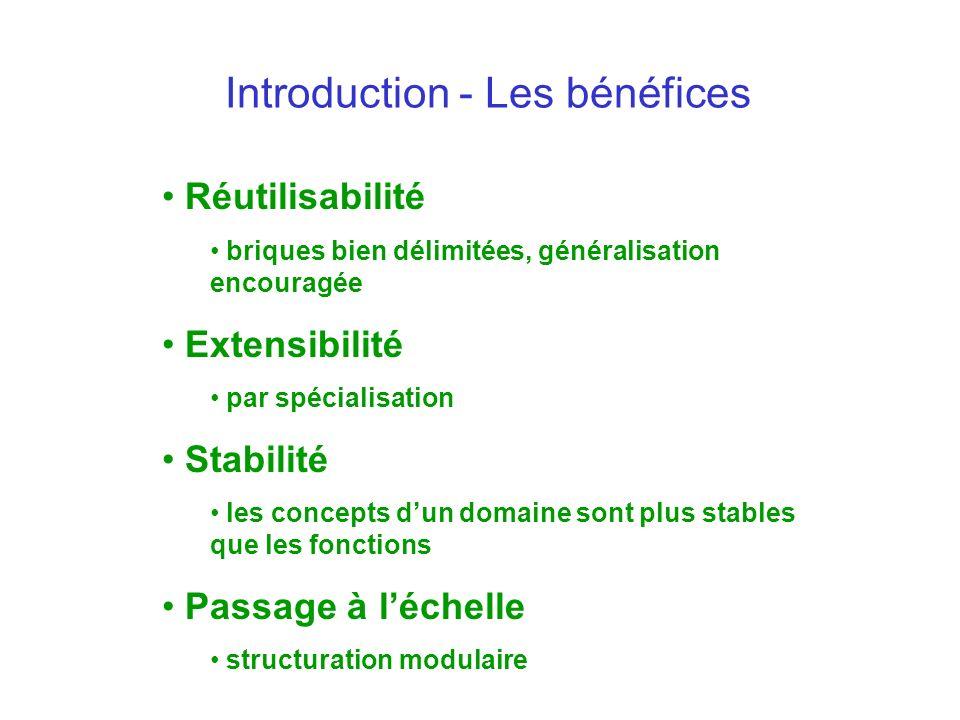 Introduction - Les bénéfices