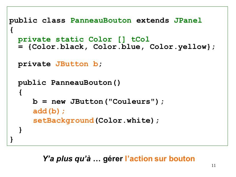public class PanneauBouton extends JPanel