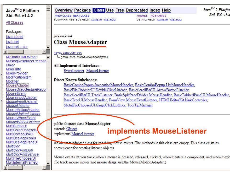 implements MouseListener