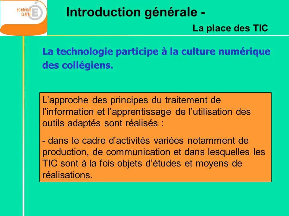 Introduction générale -