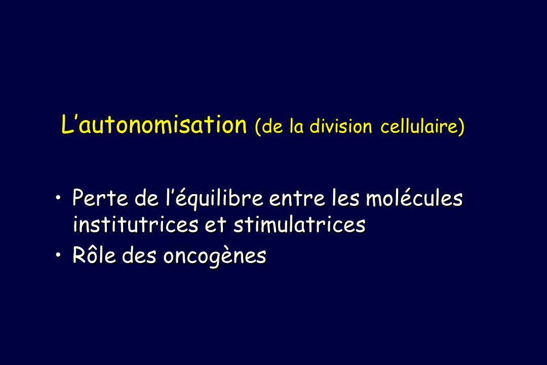 L'autonomisation (de la division cellulaire)
