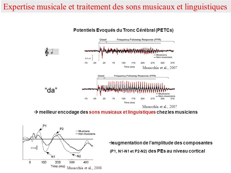 Potentiels Evoqués du Tronc Cérébral (PETCs)