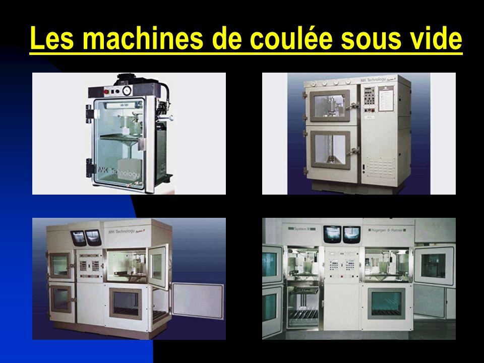 Les machines de coulée sous vide