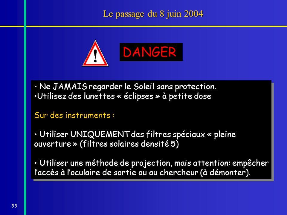 DANGER Le passage du 8 juin 2004
