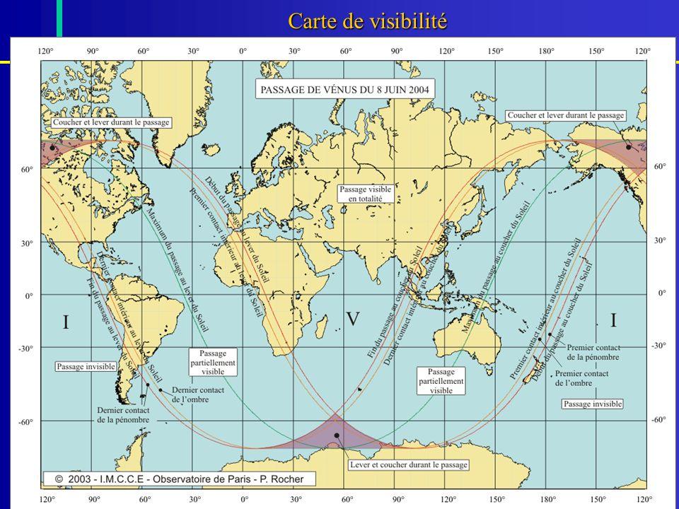 Carte de visibilité