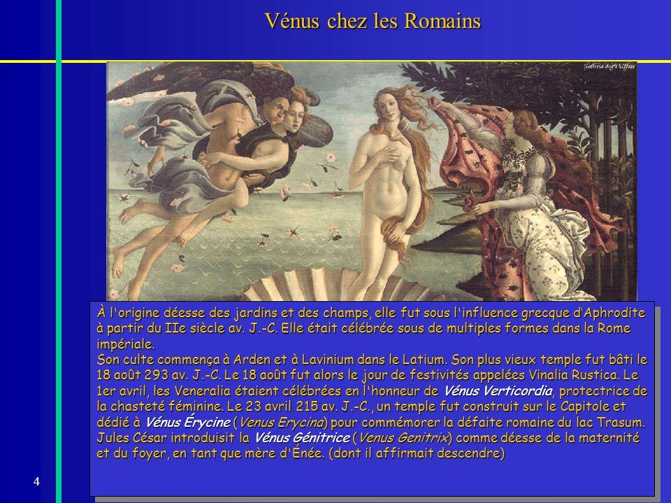 Vénus chez les Romains