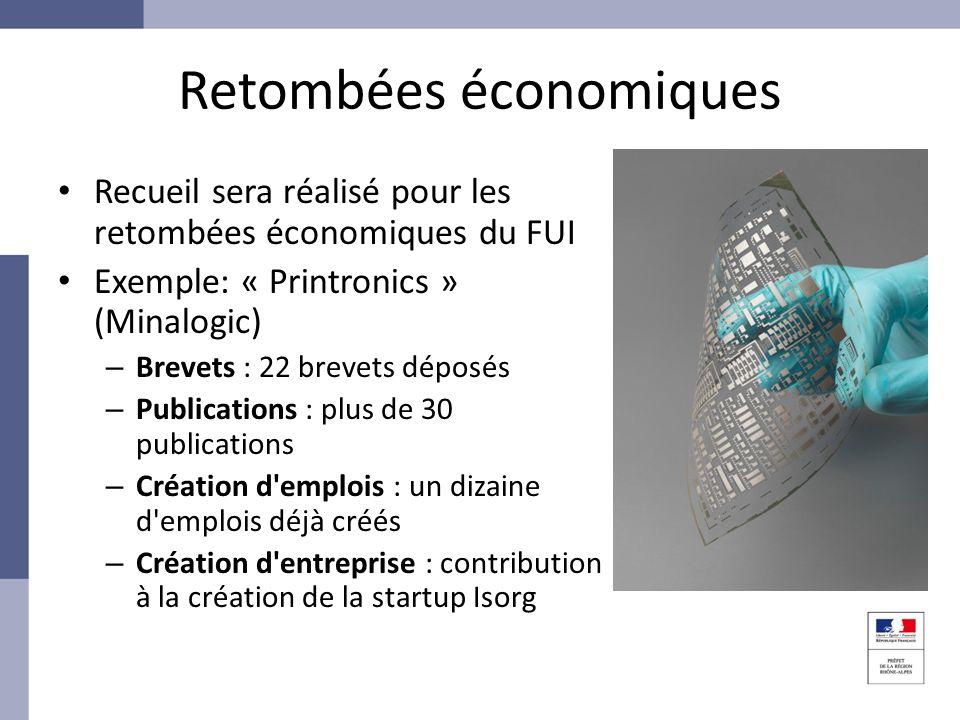 Retombées économiques