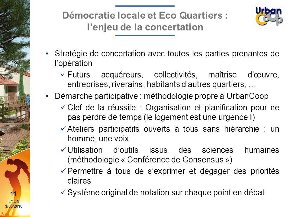 Démocratie locale et Eco Quartiers : l'enjeu de la concertation