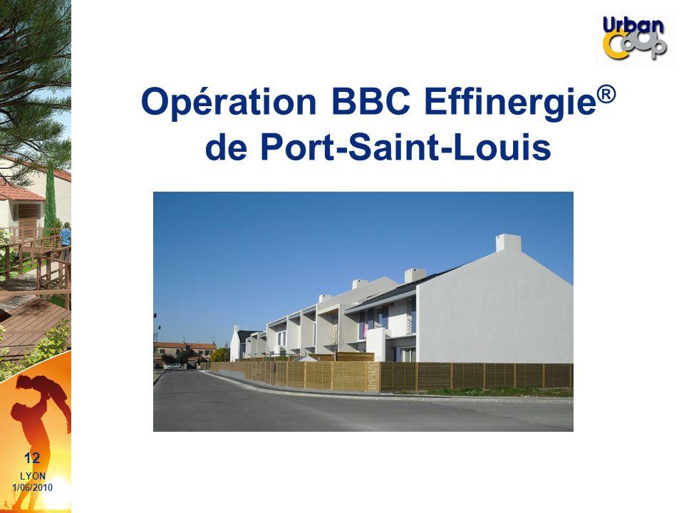 Opération BBC Effinergie® de Port-Saint-Louis