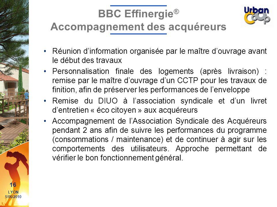BBC Effinergie® Accompagnement des acquéreurs