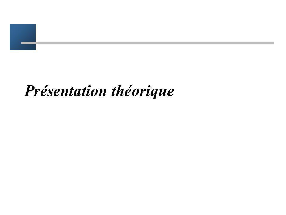 Présentation théorique