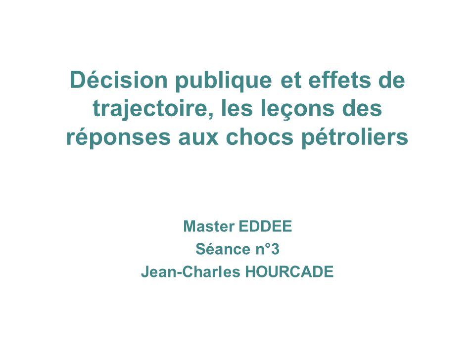 Master EDDEE Séance n°3 Jean-Charles HOURCADE