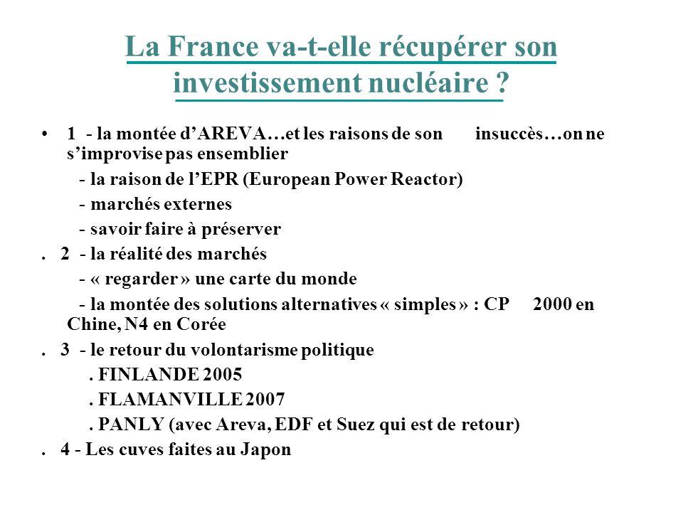 La France va-t-elle récupérer son investissement nucléaire