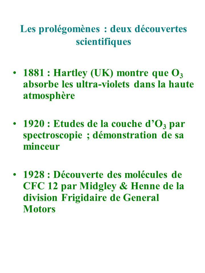 Les prolégomènes : deux découvertes scientifiques