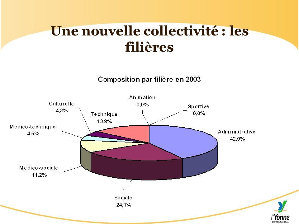 Une nouvelle collectivité : les filières