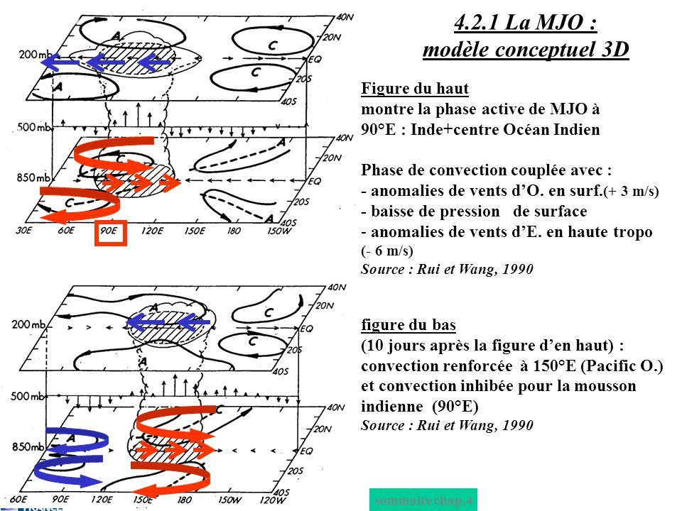 4.2.1 La MJO : modèle conceptuel 3D