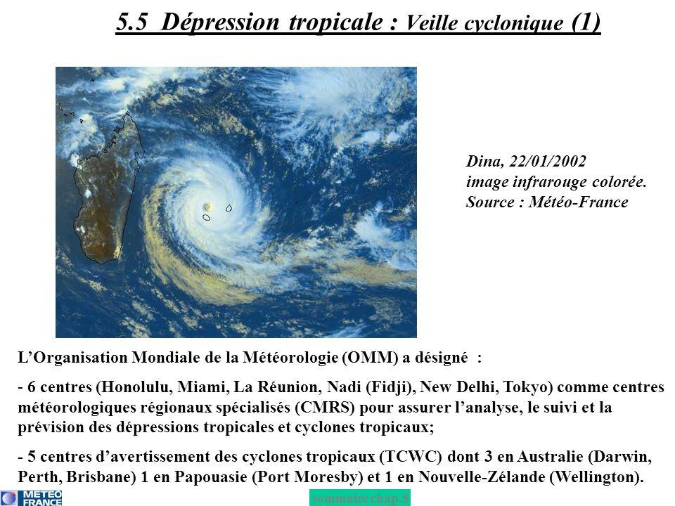 5.5 Dépression tropicale : Veille cyclonique (1)