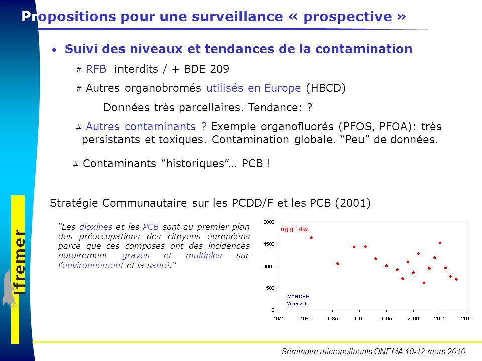 Propositions pour une surveillance « prospective »