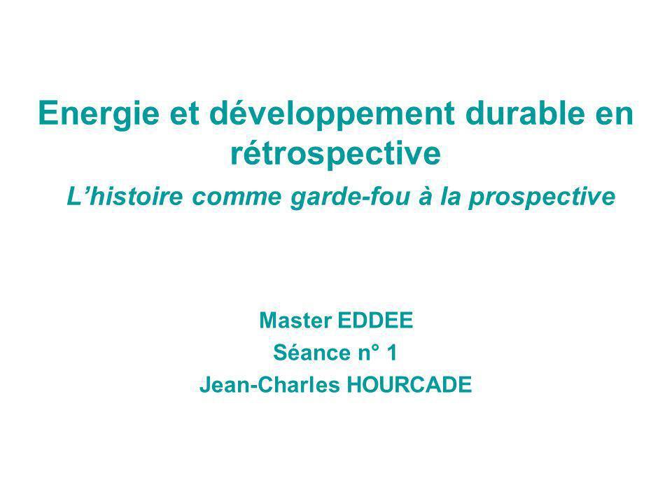 Master EDDEE Séance n° 1 Jean-Charles HOURCADE