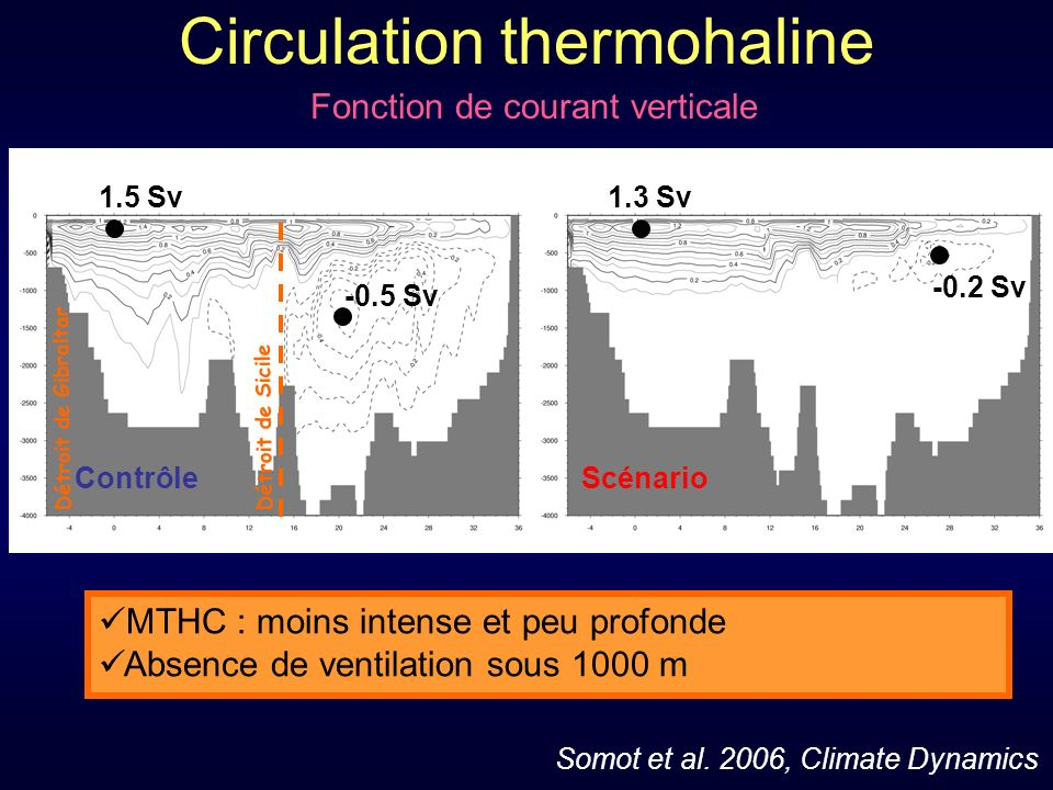 Circulation thermohaline