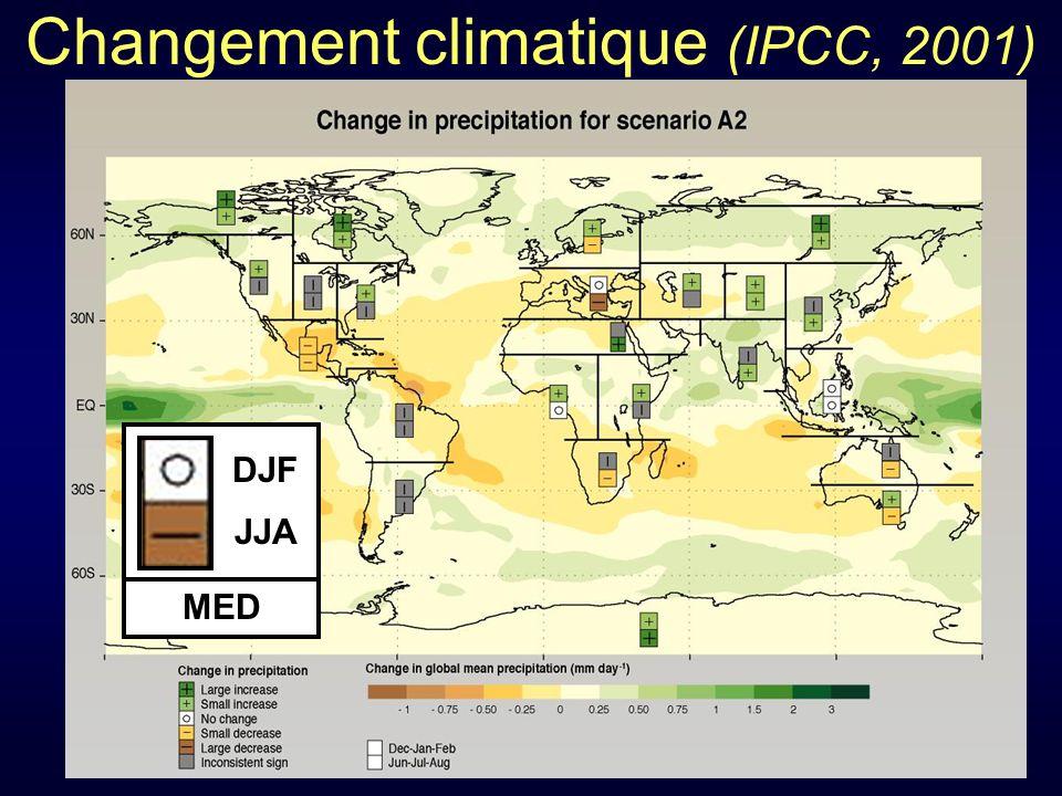 Changement climatique (IPCC, 2001)