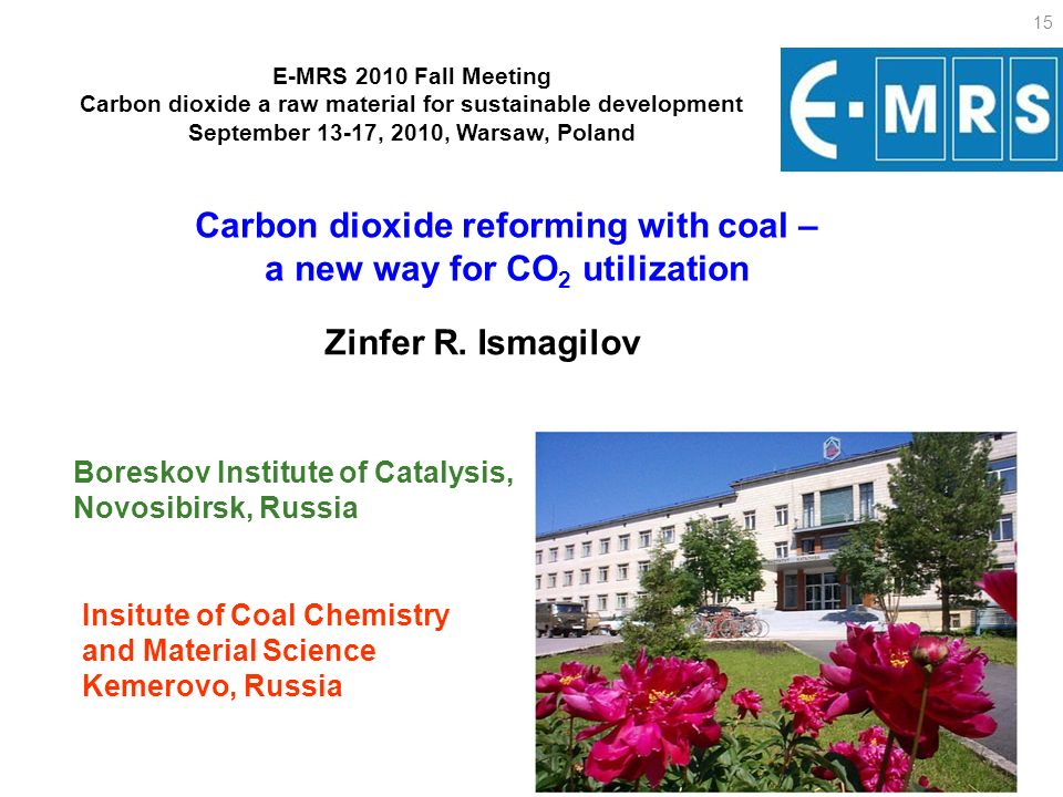 Carbon dioxide reforming with coal – a new way for CO2 utilization