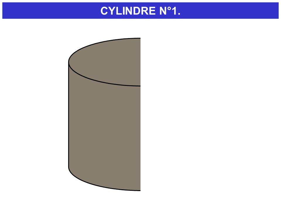 CYLINDRE N°1. DEMONSTRATION. En version 97 c est plus simple :