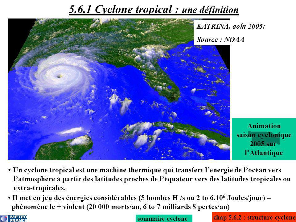 5.6.1 Cyclone tropical : une définition