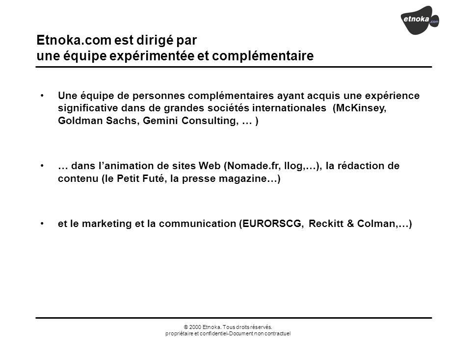 Etnoka.com est dirigé par une équipe expérimentée et complémentaire
