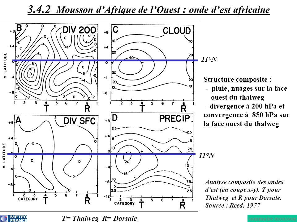 3.4.2 Mousson d'Afrique de l'Ouest : onde d'est africaine