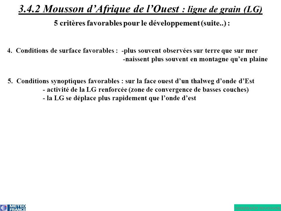 3.4.2 Mousson d'Afrique de l'Ouest : ligne de grain (LG)