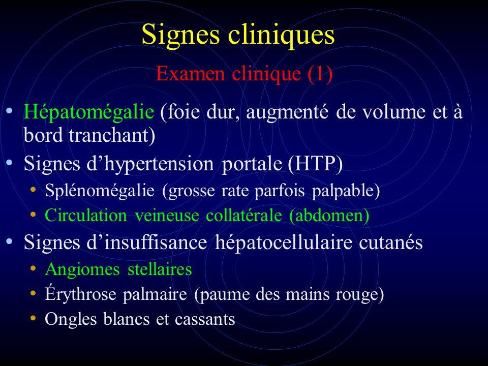 Signes cliniques Examen clinique (1)