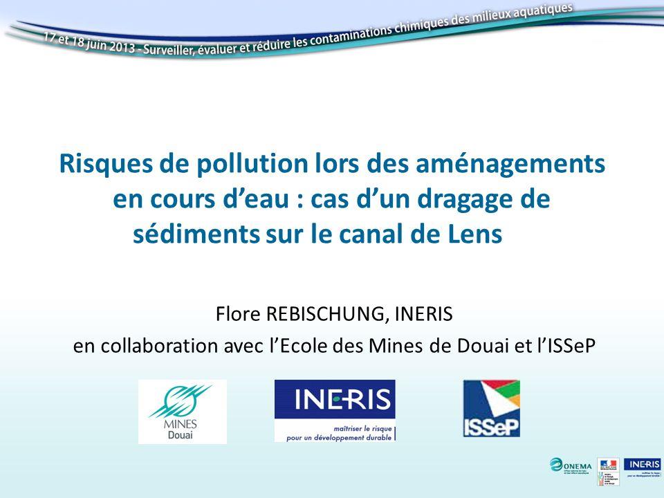 Risques de pollution lors des aménagements en cours d'eau : cas d'un dragage de sédiments sur le canal de Lens