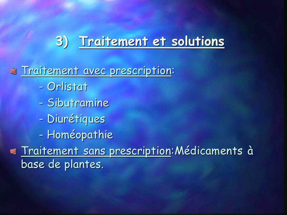 3) Traitement et solutions