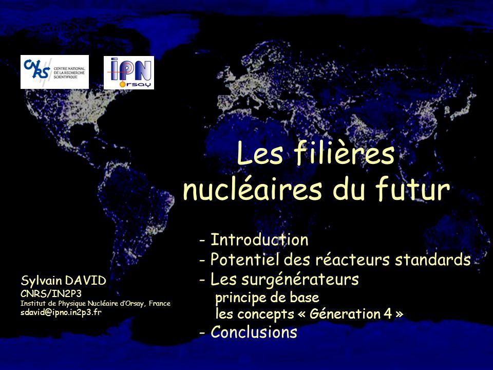 Les filières nucléaires du futur