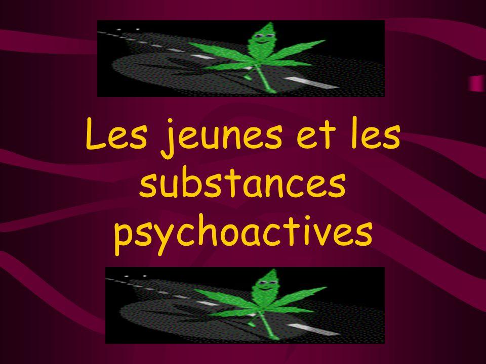 Les jeunes et les substances psychoactives