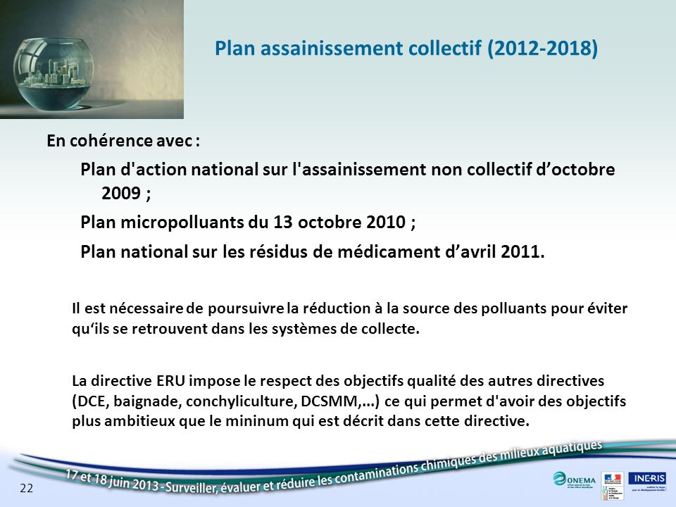 Plan assainissement collectif ( )