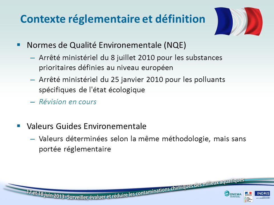 Contexte réglementaire et définition
