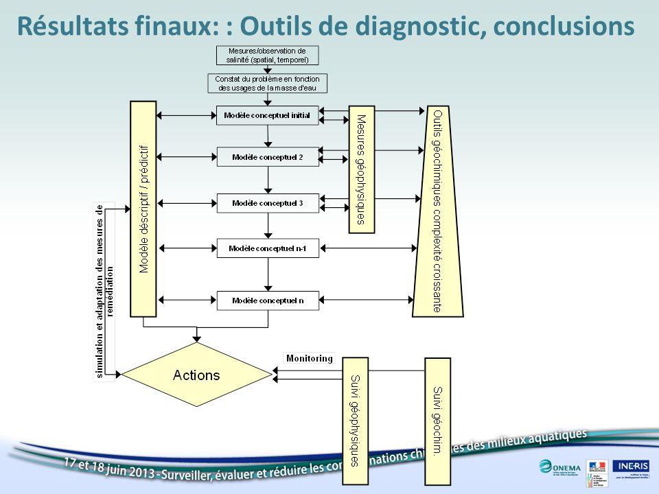 Résultats finaux: : Outils de diagnostic, conclusions