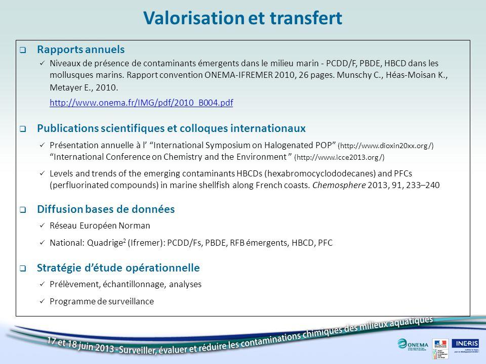 Valorisation et transfert
