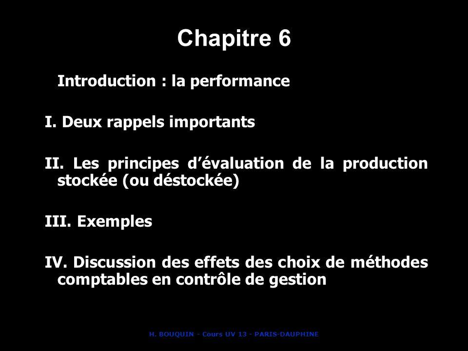 H. BOUQUIN - Cours UV 13 - PARIS-DAUPHINE