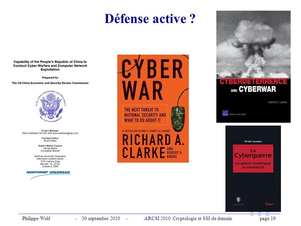Défense active