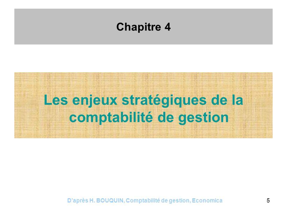 Les enjeux stratégiques de la comptabilité de gestion