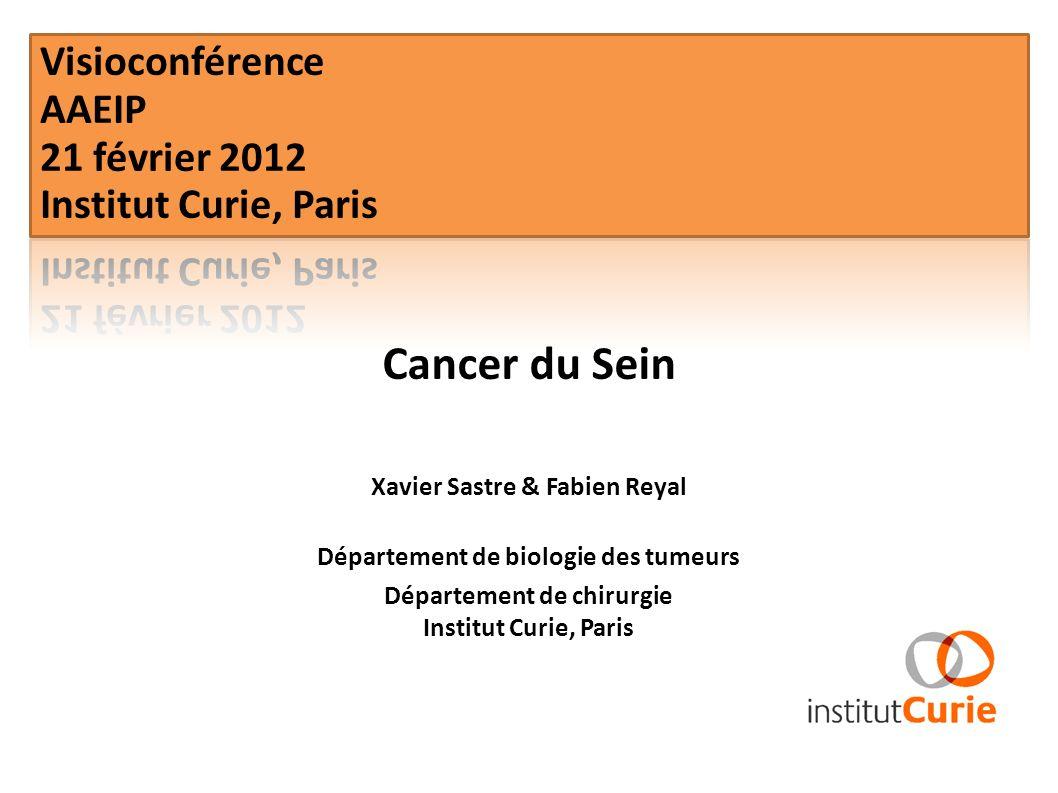 Cancer du Sein Visioconférence AAEIP 21 février 2012