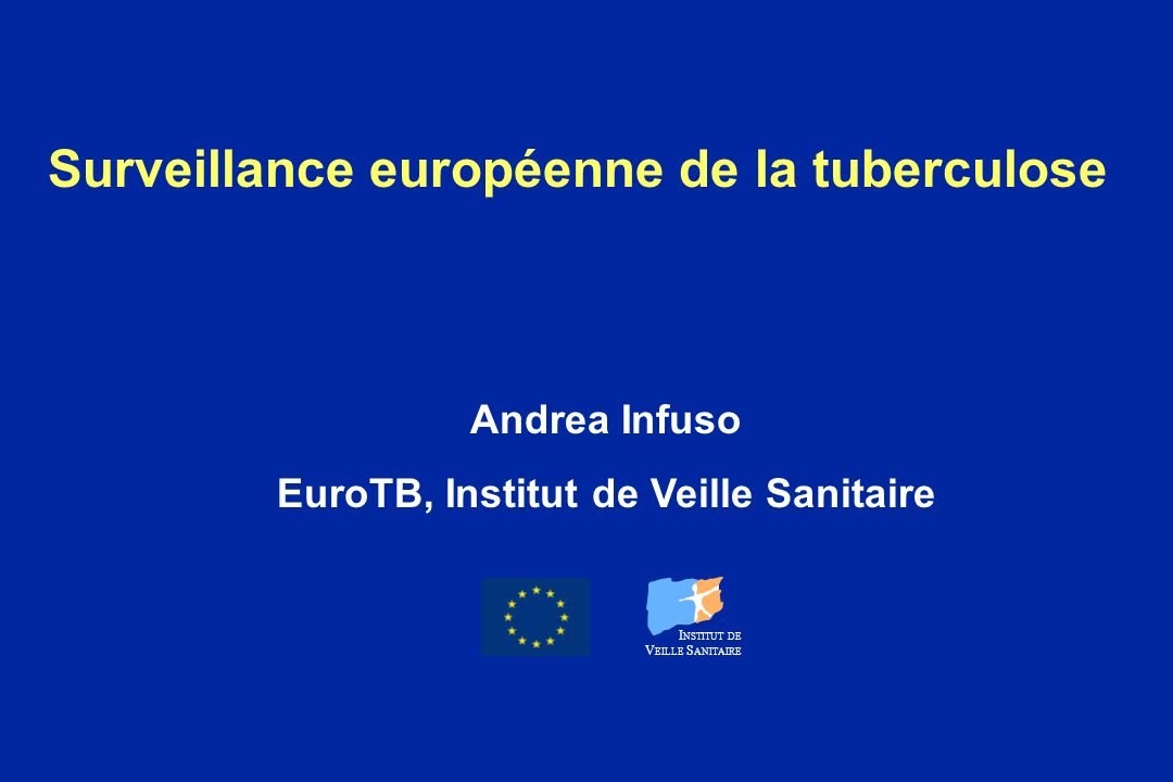 Surveillance européenne de la tuberculose