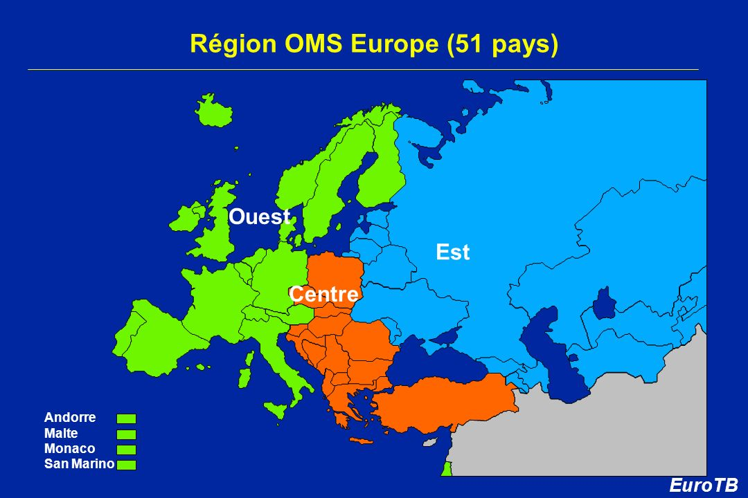 Région OMS Europe (51 pays)