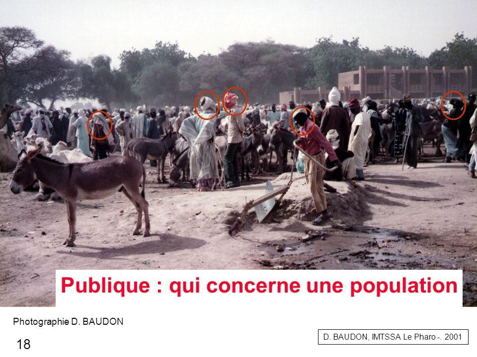 Publique : qui concerne une population