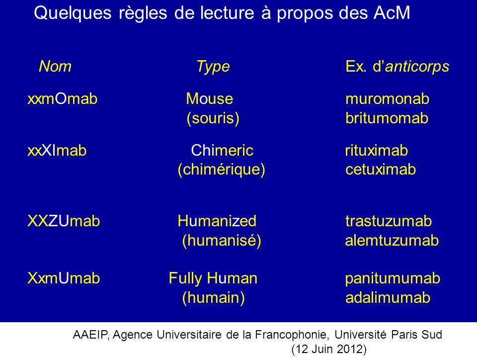 Quelques règles de lecture à propos des AcM